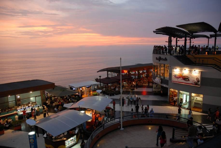 Blog Viver e Viajar - Miraflores Lima - larcomar-promoperu